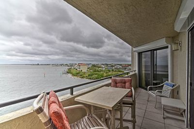Sip coffee and morning nightcaps on the private balcony, with views!