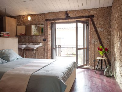 Photo for Le Souquet, luxury converted wine barn in the middle of the vineyards of the Languedoc