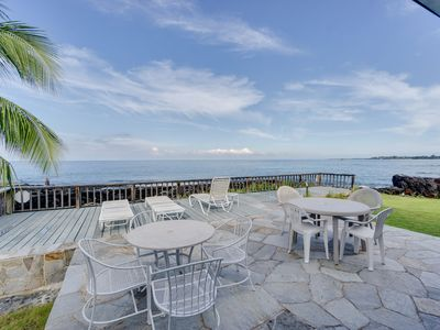 Photo for Oceanfront Home, walking distance to beach Kaikea Hale- Perfect for Families