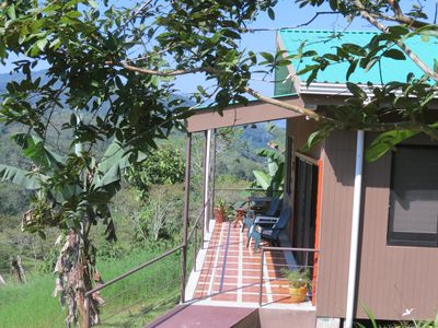Photo for Cozy Cottage with view in tranquil mountains of La Suiza, Turrialba, Costa Rica