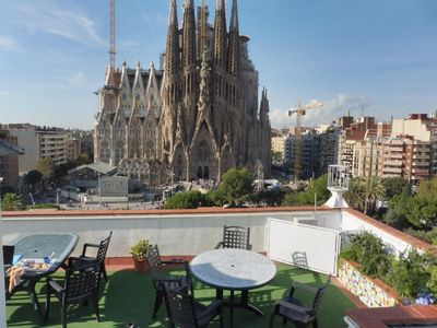 Photo for PANORAMIC SAGRADA FAMILIA 5 - ABSOLUTE FULL FRONT VIEWS