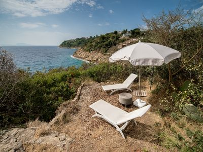 Photo for Elegant property surrounded by the Mediterranean greenery near the sea