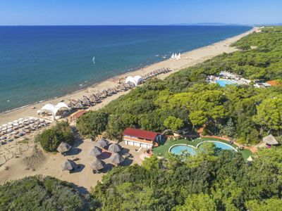 Photo for Vacation home Paradù Resort in Marina di Castagneto - 6 persons, 3 bedrooms