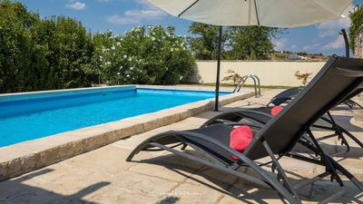 Photo for Charming villa with private pool in lovely Momjan