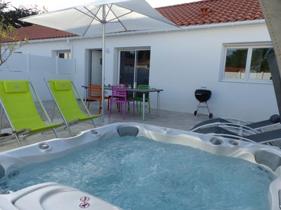 Photo for House 3 * near sea and its private hot tub