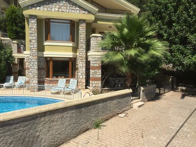 Photo for Beautiful detached villa that sleeps up to 10 with a  private pool