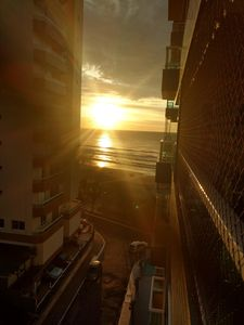 Photo for Foot in the sand, large balcony, sea view. Discounts check it out!