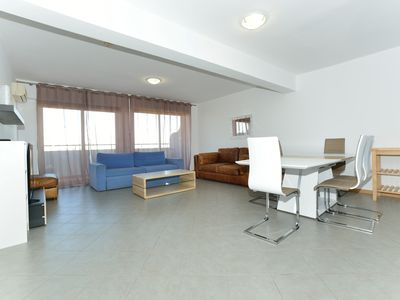 Photo for Ocean Blue Luxury Two Bedroom Apartment with Balcony