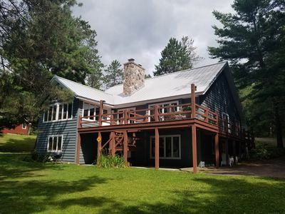 Spacious 6Br home at Resort in Private Setting, Dock, Fire Pit, Large Deck  - Minocqua