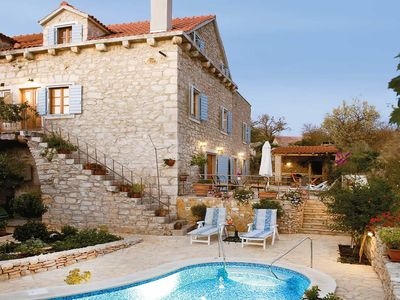 Photo for Rustic air-conditioned villa w/ private pool, free Wi-Fi & table tennis