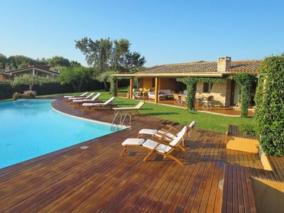 Photo for Marina de lu imposta Holiday Home, Sleeps 10 with Pool, Air Con and WiFi