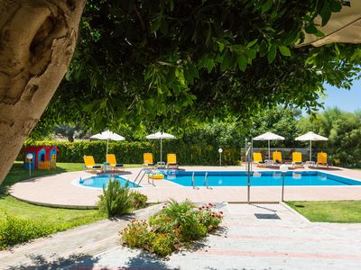 Photo for 200 sqm Villa with Private Gardens and 60 sqm Pool, 1.5 km from the Beach