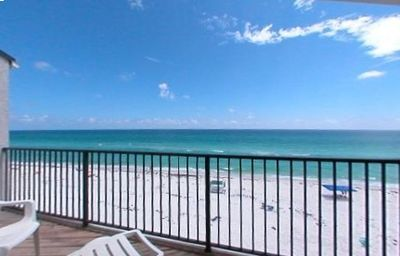 Photo for Gulf front condo in Blue Mountain Beach! Sleeps 10.