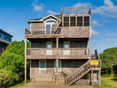 Photo for Lighthouse Views! Oceanview, Buxton-Pool, Hot Tub, Game Rm, Grill, Walk to Beach