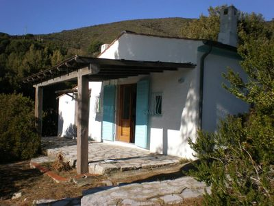 Photo for Small house in front of the sea - Campo nell''Elba