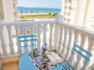 Photo for Horizonte Azul Apartment, 2 rooms with sea views