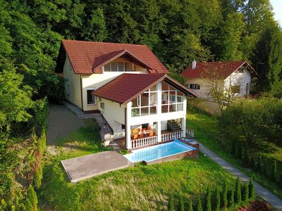 Photo for Villa Jurjevec situated on a hill slope, in the pristine part of Zagorje County