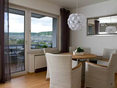Photo for 76 sqm Large 4 **** apartment with balcony and panoramic views over Bernkastel