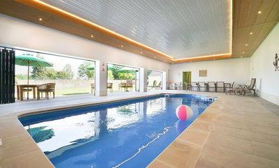 Plenty of fun for adults and children with an indoor pool