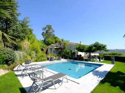 Photo for Sea view villa with pool in Ste Maxime!