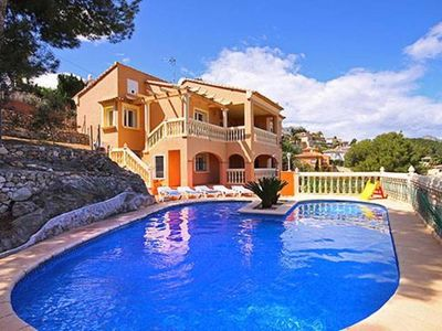 Photo for Large house with pool in Javea