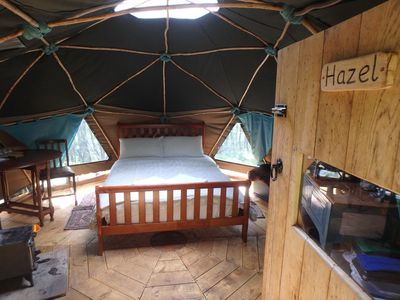 Photo for Hazel Geodome - One Bedroom Camping, Sleeps 2