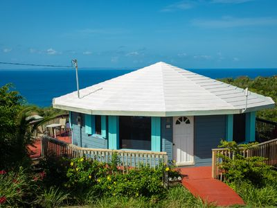 Photo for Couples• Honeymooners• Friends•  Round Hilltop Home with Endless Water Views