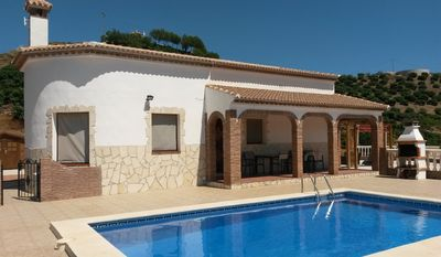 Photo for Unwind & relax, Stunning views, 3 Bedroom modern Villa sleeps 6/7 with pool.
