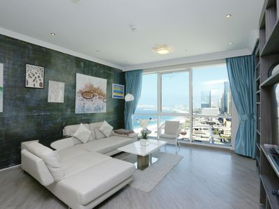 Photo for Spacious 1 BR Apartment in JBR