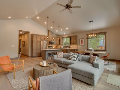 Photo for Sunrise Abode - Newly Built 4 BR 3 Bath in Tahoe Donner. Private Beach & Pool