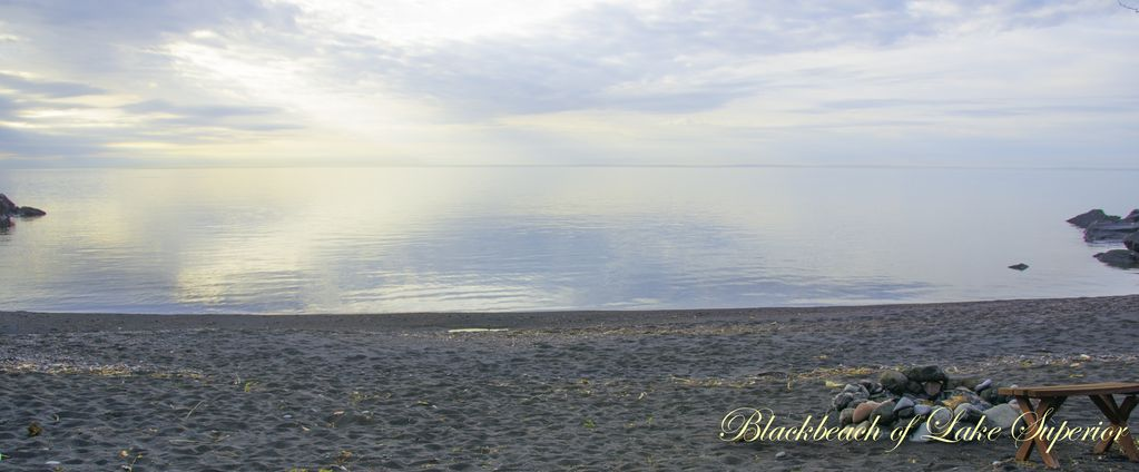 Property Image#3 Romantic Cabin Only Private Black Sand Beach On Lake  Superior (
