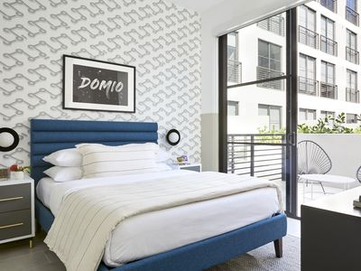 Photo for Domio Wynwood | One Bedroom Patio Suite | Laundry + Pool + Gym