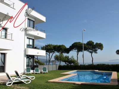 Photo for Front Line PENT HOUSE APARTMENT Uninterrupted Spectacular Sea VIEWS