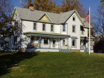 Photo for Enjoy an Historic Country Farmhouse just 30 minutes from Wisconsin Dells!