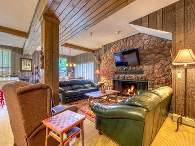 Photo for Historic lodge w/ fireplace & shared games - close to Skibowl