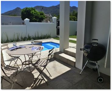 Photo for Luxury 2 bedroomed home in the heart of the picturesque town of Franschhoek