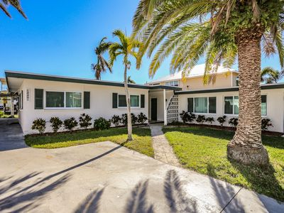 Located at 238 Flamingo on Fort Myers Beach, this single story, waterfront, ranch home is complete with 2 bedrooms, 1 full bathroom, and a great screened in lanai.