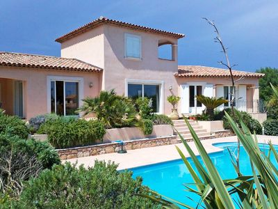 Photo for This 3-bedroom villa for up to 6 guests is located in Les Issambres and has a private swimming pool,
