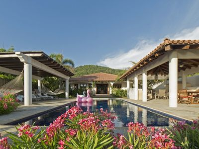 Photo for Casa Chulada-new Luxury Hacienda Style Home And Apartment On Playa Troncones