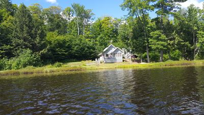 Photo for REMOTE cabin on private lake in the woods of Michigan Upper Peninsula