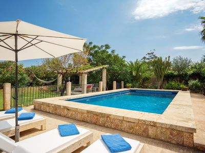 Photo for Luxurious country house with heated pool for 8 people 2 km from Pollensa