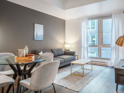 Photo for Ideal SoMa 1BR w/ Rooftop, W/D, BBQ, near Muni, by Blueground