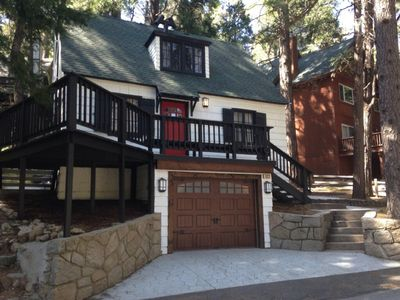 Photo for Well Maintained - Charming 1942 Lake Arrowhead Cabin. Walk to Lake & Village