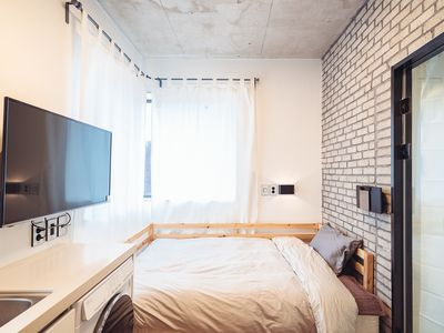 Photo for New! Cozy Studio double bed/ Dongdaemun