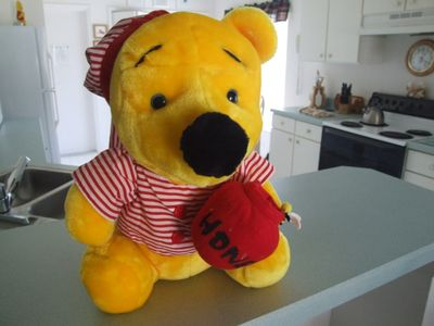 Pooh is waiting