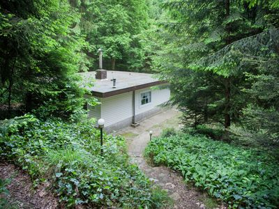 Photo for Peacefully situated in the center of the forest of the Kempen