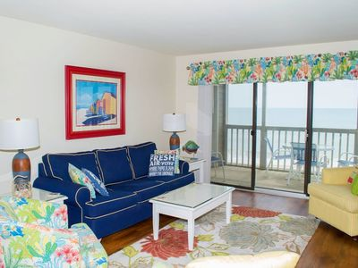 Photo for 2 BR Oceanfront condo with great panoramic views!!