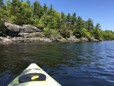 Your kayak is waiting for you!