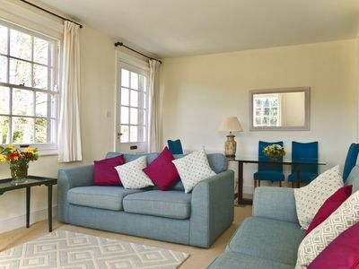 Photo for Stourhead - delightful light and airy first floor terrace flat