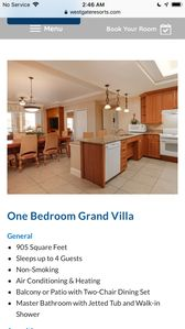 Photo for 4 bedroom suite catering to large families in a family friendly resort.